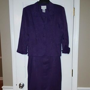 Karin Stevens Sz 16 Semi Formal Dress & Jacket